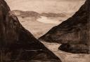 Lapland, acryl op paneel, 50x40cm