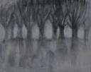 Zonder titel, acryl op paneel, 70x60cm