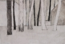 Lapland, acryl op paneel, 30x21cm