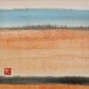 Caroline Mars, Desert, 30x30cm