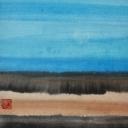Caroline Mars, Seascapes, 30x30cm