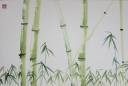 Caroline Mars, Traditional Bamboo, 50x75cm