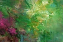 ohne Titel, 2014, Acryl auf Leinwand, 100 x 150 cm