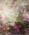 ohne Titel, 2014, Acryl auf Leinwand, 110 x 90 cm