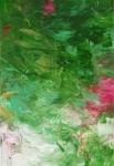 ohne Titel, 2014, Acryl auf Leinwand, 160 x 110 cm