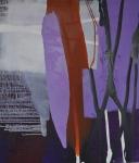 Nachtbaum, olieverf op linnen, 120x140cm