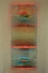 Zonder titel, olieverf op linnen, 80x120cm