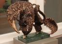 Kitty Warnawa, miereneter, brons
