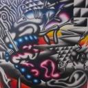 De consument, acryl op linnen, 70x70cm