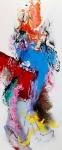 Op reis, acryl op linnen, 60x140cm
