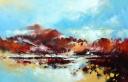 Mattie Schilders, Evening Morning 3, 90x140cm
