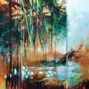 Mattie Schilders, Privatie Paradise ,, 120x120cm