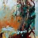 Mattie Schilders, Privatie Paradise 2, 120x120cm