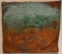 Mixed media op doek, 50x52cm