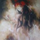 Melchior, acryl op linnen, 100x100cm