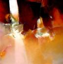 Terra y luz, olieverf op linnen, 100x100cm