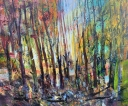 Forest and Birds 120 x 100 cm klb